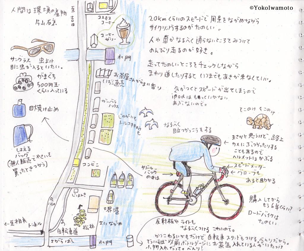 ご近所サイクリングの作法