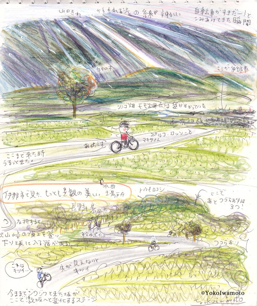 長野県伊那市のとあ〜る自転車イベントの様子