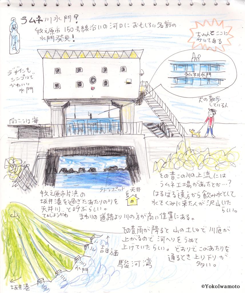 ラムネ川水門