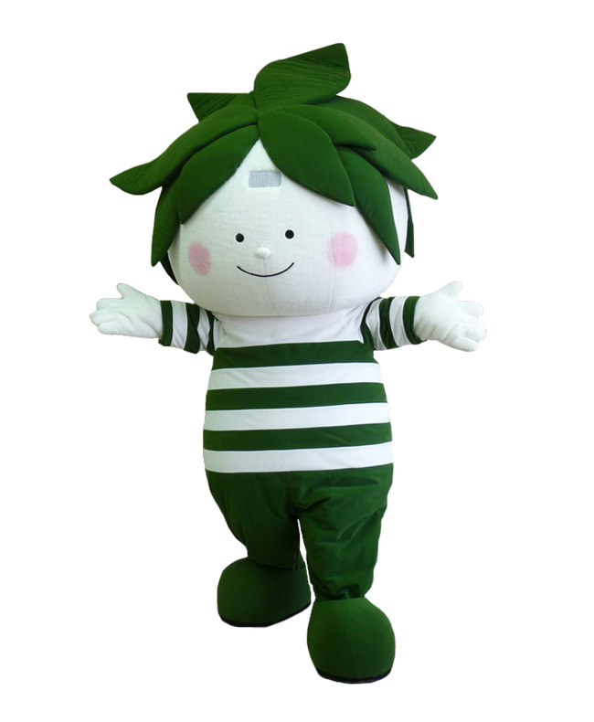 静岡牧之原茶マスコットキャラクター「チャーフィン」